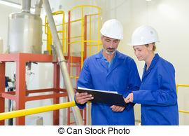 Workers Jovial
